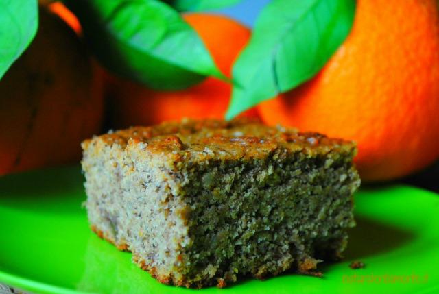 torta vegan all'arancia