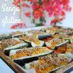 Zucchine al forno vegan ai fiocchi d'avena