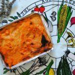 Pasta al forno vegan fumè