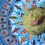 Quinoa con cime di rapa e crema di mandorle