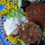 Vegan Burger di riso e borlotti