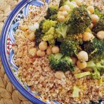 Cous Cous integrale con broccoli e ceci