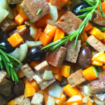 Seitan alle olive e rosmarino