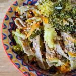 Pizzoccheri con broccoli e carote